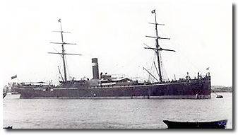 Dacca - British india Associated Steamers 1882-1890