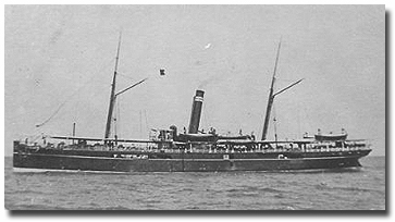 Katoria (BI 1889-1923), on of the seven-strong K class built for shorter, fast services along the Indian coast