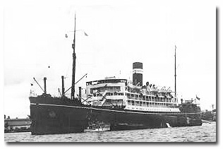 Madura was well-known as the ship which lifted a large number of passengers from southwest France in 1940 in the face of the advancing German occupation