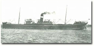 A BI ship which saw long service, from 1919 to 1952, the 7,261 gt Masula