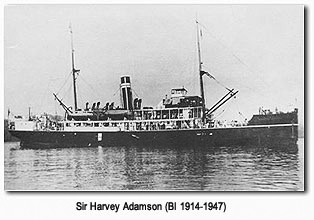 Sir Harvey Adamson - BI 1914-1947