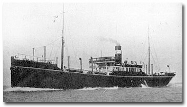 Umeta, Port Said for Marseilles, was sunk by U-33 112 miles east of Malta on Dec 1, 1915, the first company ship to be lost by submarine action