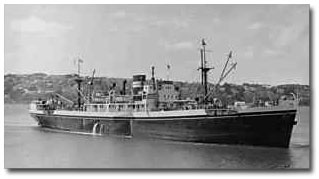 Warla (3,669 gt) was built in 1949 for BI's Chittagong-Japan run